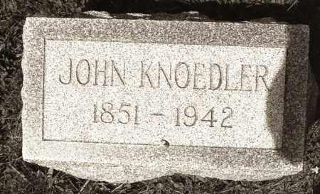 KNOEDLER, JOHN - Crawford County, Ohio   JOHN KNOEDLER - Ohio Gravestone Photos