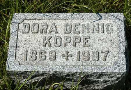 KOPPE, DORA - Crawford County, Ohio | DORA KOPPE - Ohio Gravestone Photos