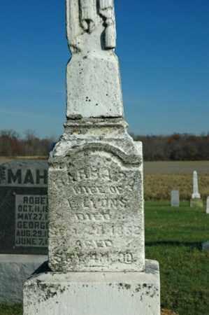 LYONS, BARBARA - Crawford County, Ohio | BARBARA LYONS - Ohio Gravestone Photos