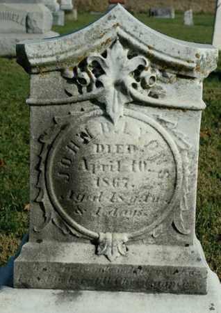 LYONS, JOHN B. - Crawford County, Ohio | JOHN B. LYONS - Ohio Gravestone Photos