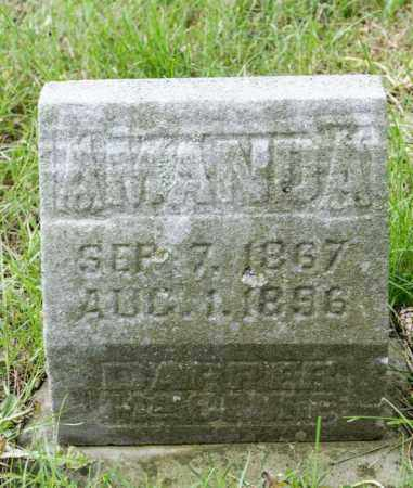 DAPPER MCCLURE, AMANDA ISABEL - Crawford County, Ohio | AMANDA ISABEL DAPPER MCCLURE - Ohio Gravestone Photos