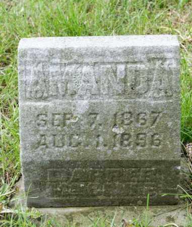 DAPPER MCCLURE, AMANDA ISABEL - Crawford County, Ohio | AMANDA ISABEL DAPPER MCCLURE - Ohio Gravestone Photos