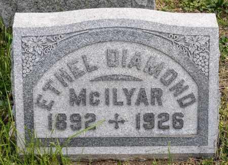 MCILYAR, ETHEL MARGARET - Crawford County, Ohio | ETHEL MARGARET MCILYAR - Ohio Gravestone Photos