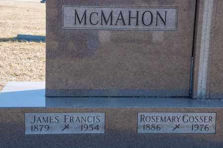 MCMAHON, JAMES FRANCIS - Crawford County, Ohio | JAMES FRANCIS MCMAHON - Ohio Gravestone Photos