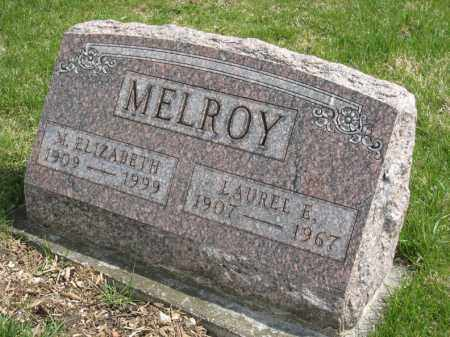 MELROY ANGLE VIEW, LAUREL - Crawford County, Ohio | LAUREL MELROY ANGLE VIEW - Ohio Gravestone Photos