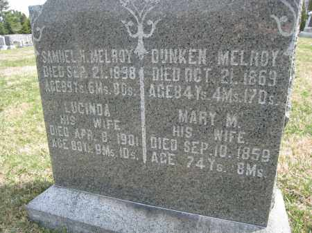 MELROY CLOSEUP, DUNKEN - Crawford County, Ohio | DUNKEN MELROY CLOSEUP - Ohio Gravestone Photos
