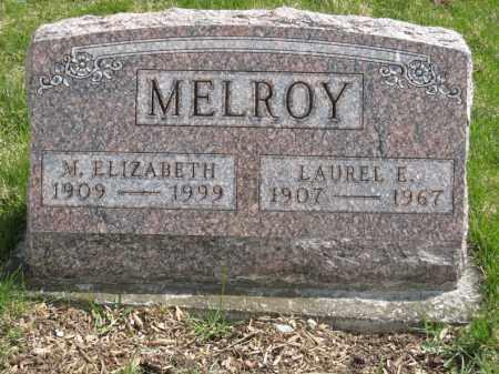 MELROY, M. ELIZABETH - Crawford County, Ohio | M. ELIZABETH MELROY - Ohio Gravestone Photos