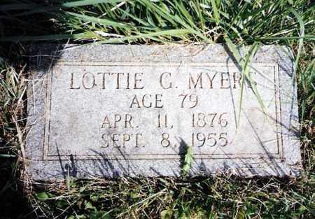 SPITZER MYERS, LOTTIE - Crawford County, Ohio | LOTTIE SPITZER MYERS - Ohio Gravestone Photos