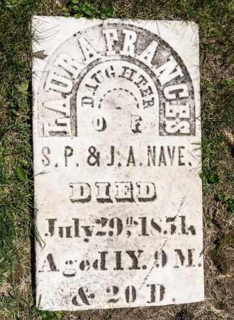 NAVE, LAURA FRANCES - Crawford County, Ohio   LAURA FRANCES NAVE - Ohio Gravestone Photos