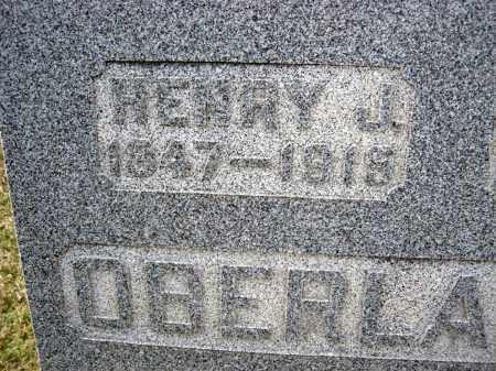OBERLANDER CLOSER, HENRY J. - Crawford County, Ohio | HENRY J. OBERLANDER CLOSER - Ohio Gravestone Photos