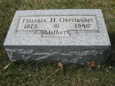OBERLANDER, FLORENCE H - Crawford County, Ohio | FLORENCE H OBERLANDER - Ohio Gravestone Photos