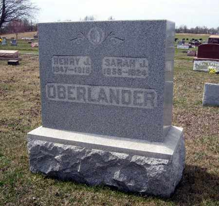 OBERLANDER, HENRY J - Crawford County, Ohio | HENRY J OBERLANDER - Ohio Gravestone Photos
