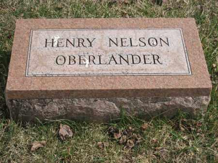 OBERLANDER, HENRY NELSON - Crawford County, Ohio | HENRY NELSON OBERLANDER - Ohio Gravestone Photos