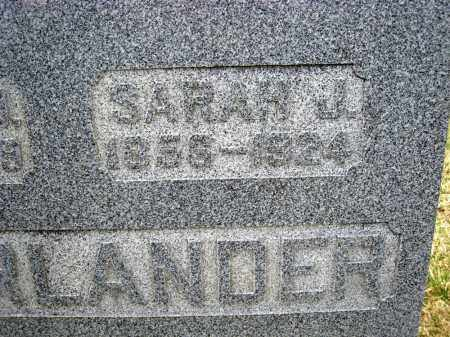 OBERLANDER, SARAH J - Crawford County, Ohio | SARAH J OBERLANDER - Ohio Gravestone Photos