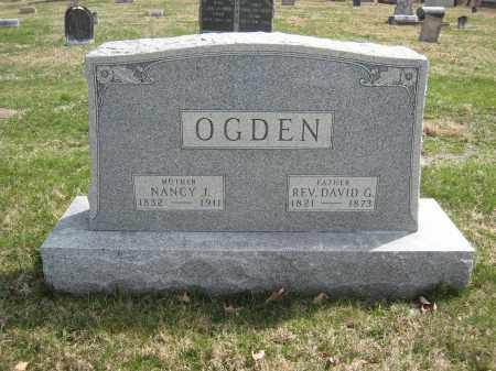 OGDEN, NANCY J. - Crawford County, Ohio | NANCY J. OGDEN - Ohio Gravestone Photos