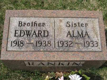 RANKIN, EDWARD - Crawford County, Ohio | EDWARD RANKIN - Ohio Gravestone Photos