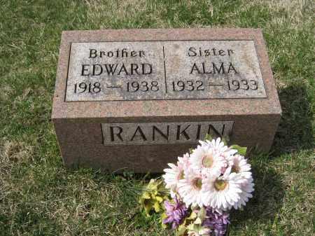 RANKIN MONUMENT, EDWARD - Crawford County, Ohio   EDWARD RANKIN MONUMENT - Ohio Gravestone Photos