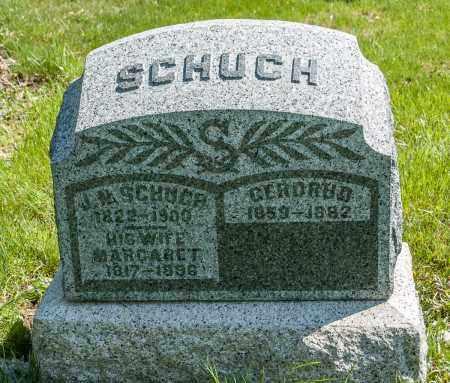 SCHUCH, GERDRUD - Crawford County, Ohio | GERDRUD SCHUCH - Ohio Gravestone Photos