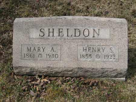 SHELDON, MARY A - Crawford County, Ohio | MARY A SHELDON - Ohio Gravestone Photos