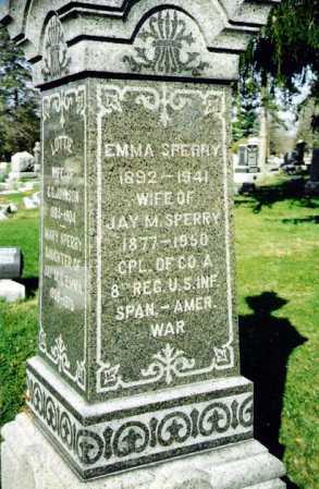 KREBS SPERRY, EMMA - Crawford County, Ohio | EMMA KREBS SPERRY - Ohio Gravestone Photos
