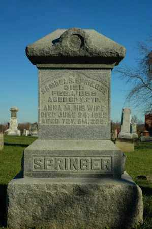SPRINGER, SAMUEL S. - Crawford County, Ohio   SAMUEL S. SPRINGER - Ohio Gravestone Photos