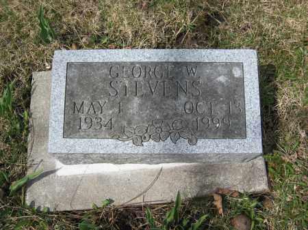 STEVENS, GEORGE W. - Crawford County, Ohio   GEORGE W. STEVENS - Ohio Gravestone Photos