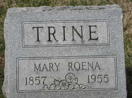 TRINE, MARY ROENA - Crawford County, Ohio   MARY ROENA TRINE - Ohio Gravestone Photos