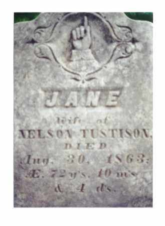 BROWN TUSTISON, JANE - Crawford County, Ohio | JANE BROWN TUSTISON - Ohio Gravestone Photos