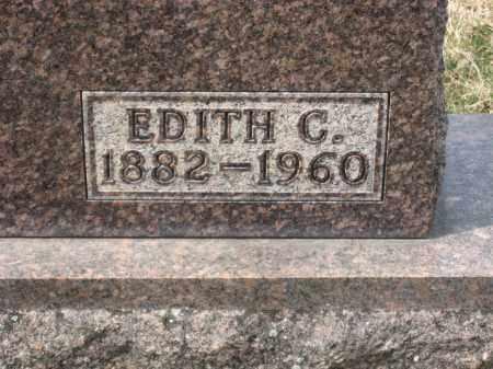 VALENTINE CLOSEUP, EDITH C. - Crawford County, Ohio   EDITH C. VALENTINE CLOSEUP - Ohio Gravestone Photos