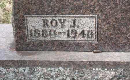 VALENTINE CLOSEUP, ROY J. - Crawford County, Ohio | ROY J. VALENTINE CLOSEUP - Ohio Gravestone Photos