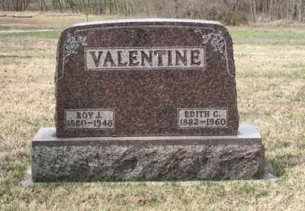 VALENTINE, ROY J. - Crawford County, Ohio | ROY J. VALENTINE - Ohio Gravestone Photos