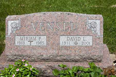 VENSEL, MIRIAM P. - Crawford County, Ohio | MIRIAM P. VENSEL - Ohio Gravestone Photos