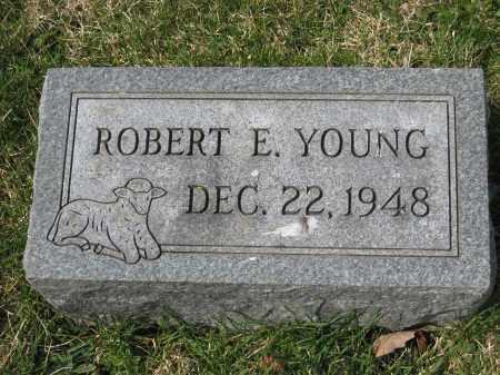 YOUNG, ROBERT E. - Crawford County, Ohio | ROBERT E. YOUNG - Ohio Gravestone Photos