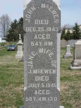 MCEWEN, JOHN - Crawford County, Ohio | JOHN MCEWEN - Ohio Gravestone Photos