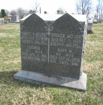 MELROY, LUCINDA - Crawford County, Ohio | LUCINDA MELROY - Ohio Gravestone Photos