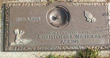 ADKINS, CHRISTOPHER NICHOLAS - Cuyahoga County, Ohio | CHRISTOPHER NICHOLAS ADKINS - Ohio Gravestone Photos