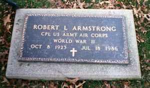 ARMSTRONG, ROBERT L. - Cuyahoga County, Ohio   ROBERT L. ARMSTRONG - Ohio Gravestone Photos