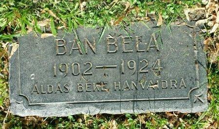 BAN, BELLA - Cuyahoga County, Ohio | BELLA BAN - Ohio Gravestone Photos