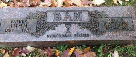 BAN, KATALIN - Cuyahoga County, Ohio | KATALIN BAN - Ohio Gravestone Photos