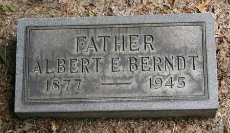 BERNDT, ALBERT E. - Cuyahoga County, Ohio | ALBERT E. BERNDT - Ohio Gravestone Photos