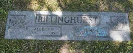 BILLINGHURST, ALBERT W. - Cuyahoga County, Ohio | ALBERT W. BILLINGHURST - Ohio Gravestone Photos