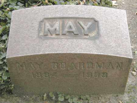 BOARDMAN, MAY - Cuyahoga County, Ohio | MAY BOARDMAN - Ohio Gravestone Photos
