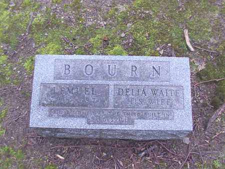 BOURNE, DELIA - Cuyahoga County, Ohio | DELIA BOURNE - Ohio Gravestone Photos