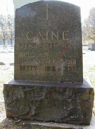 CAINE, GERTRUDE C. - Cuyahoga County, Ohio   GERTRUDE C. CAINE - Ohio Gravestone Photos