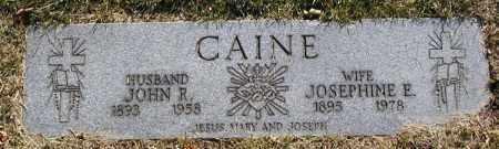 CAINE, JOSEPHINE E.- - Cuyahoga County, Ohio | JOSEPHINE E.- CAINE - Ohio Gravestone Photos