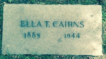 CAIRNS, ELLA - Cuyahoga County, Ohio | ELLA CAIRNS - Ohio Gravestone Photos