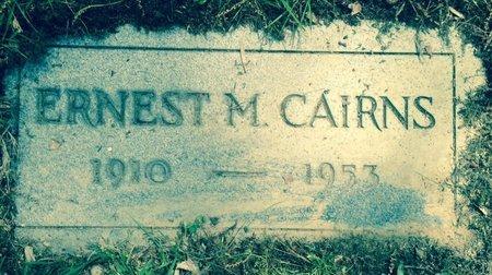 CAIRNS, ERNEST M - Cuyahoga County, Ohio   ERNEST M CAIRNS - Ohio Gravestone Photos