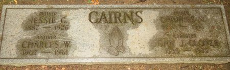CAIRNS, CHARLES W - Cuyahoga County, Ohio | CHARLES W CAIRNS - Ohio Gravestone Photos