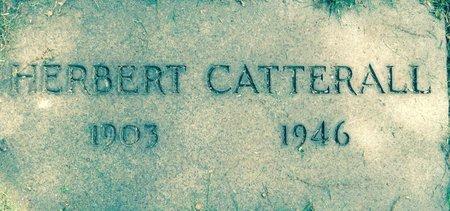 CATTERALL, HERBERT JAMES - Cuyahoga County, Ohio | HERBERT JAMES CATTERALL - Ohio Gravestone Photos