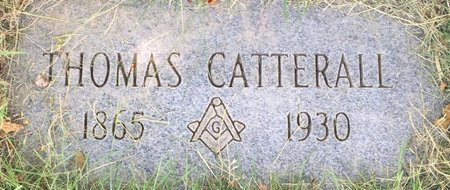 CATTERALL, THOMAS - Cuyahoga County, Ohio | THOMAS CATTERALL - Ohio Gravestone Photos